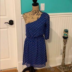 Moonlight One Shoulder Midid Dress Medium